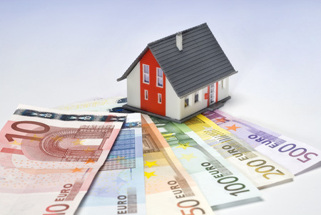 House and european bills Stock Photo - 28075080
