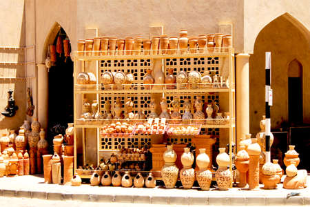 Traditional and Cultural Souq in Nizwa Fort Street