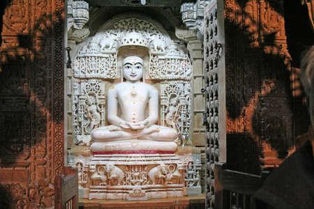 idool: Indian idol in tempel Stockfoto