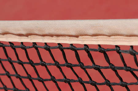Tennis net, closeup  photo