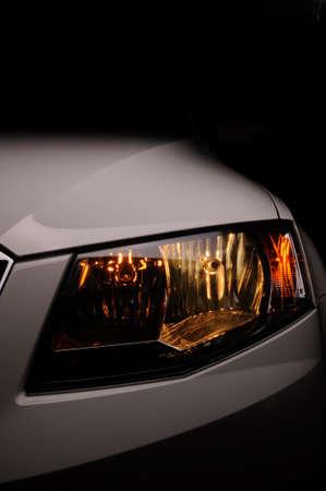 Car light closeup. photo