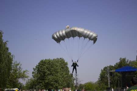 paratrooper Stock Photo - 19717113