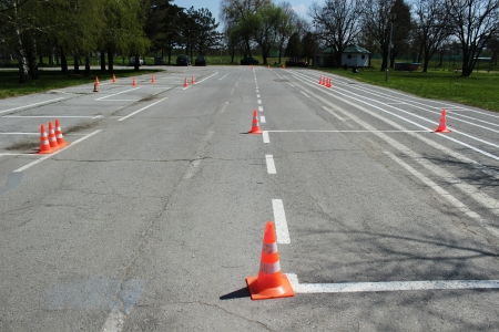 Ground for taking the test from driving