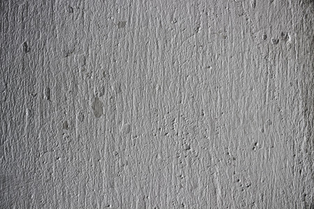 chalky: Closeup of old whitewashed wall