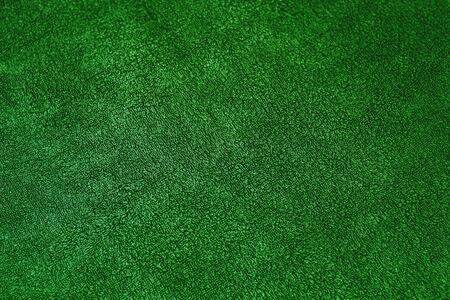 green carpet: green carpet wool texture Stock Photo