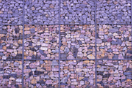 perfomance: Abstract Stone Wall perfomance art on grass