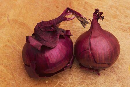 Red Onions Zdjęcie Seryjne