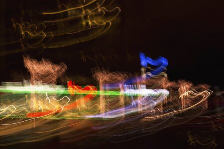 linee astratte: Colore Abstract lines Archivio Fotografico