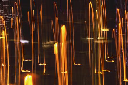 Fire abstract trails Zdjęcie Seryjne