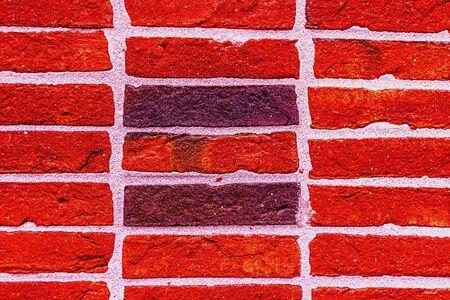 Color Brickwall Zdjęcie Seryjne