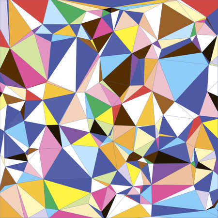 Abstract light colorful Triangle Polygonal Geometrical Background