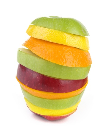 Slices of fruits photo