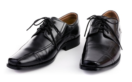 mens shoes: Mens shoes with white background