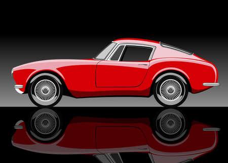 Vector sports car. Stock Vector - 21376483