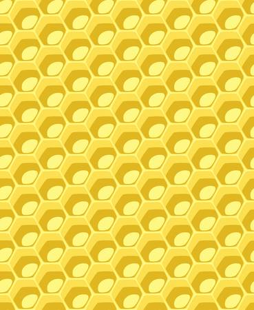 completely seamless honeycomb pattern vector Stock Vector - 21938001