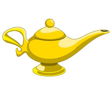 Doodle estilo de aladdin genie