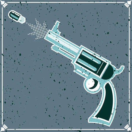 mash: old revolver poster. no mash no gradient