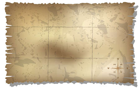 map with rose of wind background  gradient mash