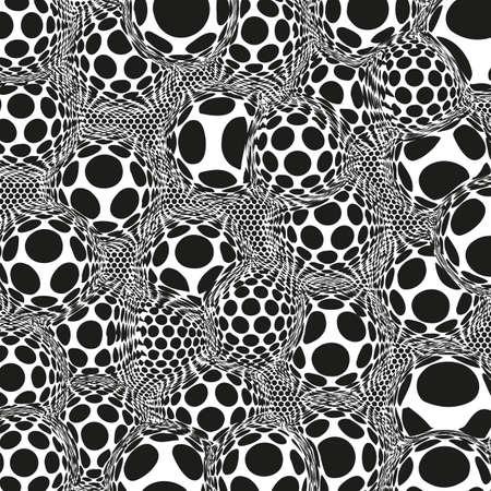 vector abstract background. no mash no gradient Illustration