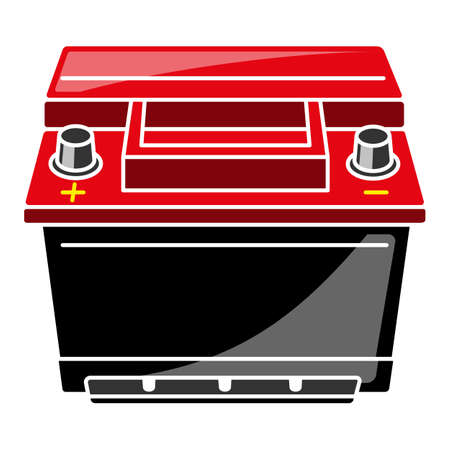 Car Battery  Illustration illustration