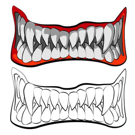 boca abierta: las mordazas