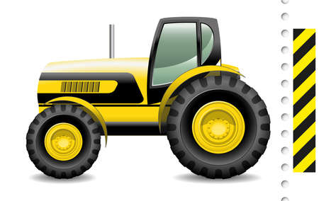traction device: tractor Illustration