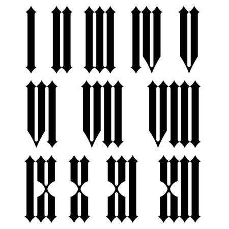 numeros romanos: Numerales romanos