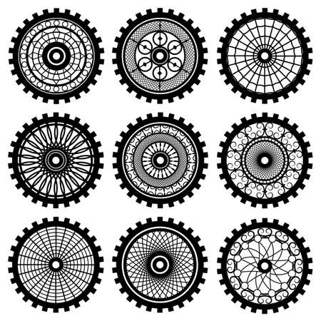 the gears Vector