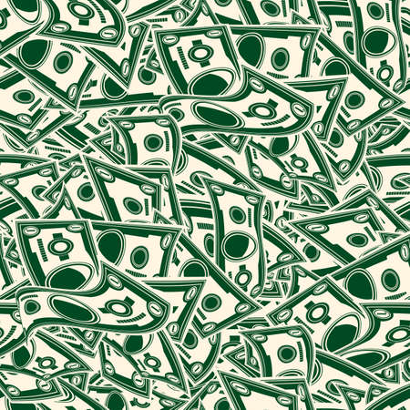 fanned: dollars background