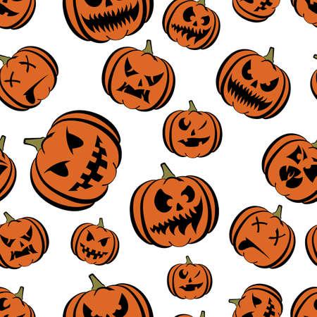 calabaza de Halloween Vectores