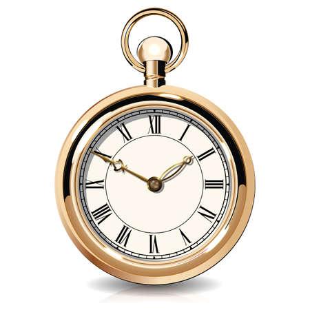 Epoca orologi d'oro Archivio Fotografico - 32885124