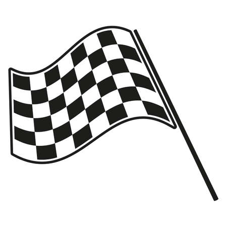 checkered flag racing Stock Vector - 33211132