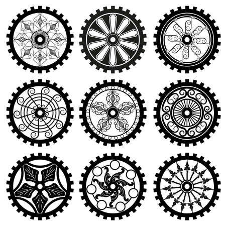 the gears Illustration