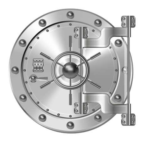 Bank kluis deur