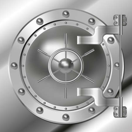 bank icon: Bank vault door