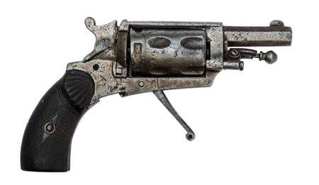 revolver: antique revolver Stock Photo