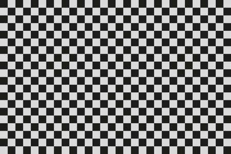 白と黒の正方形します。ベクトル。クリップアート