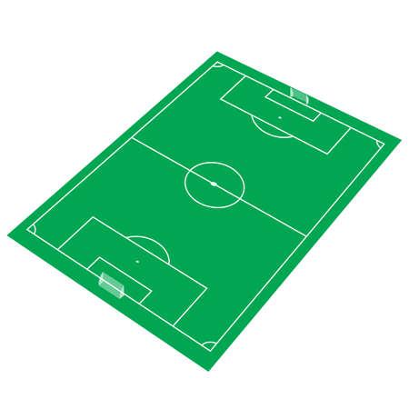soccer stadium: Football Soccer Stadium Vector . Illustration clip art