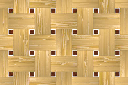 parquet: Artistic mosaic parquet. Illustration