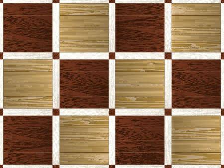 parquet: Artistic mosaic parquet.