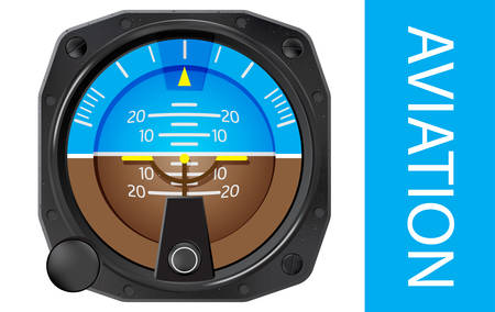 deviation: Attitude indicator is an instrument used in an aircraft to inform the pilot of the orientation of the aircraft