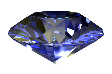 desirable: Classic diamond 3D render