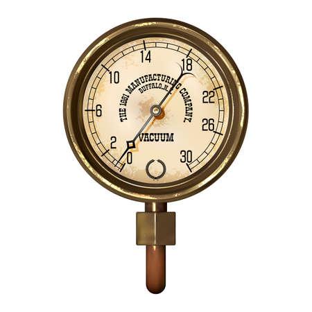A measuring device vector.