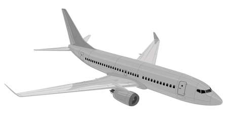 Airplane Vector illustration. Illustration