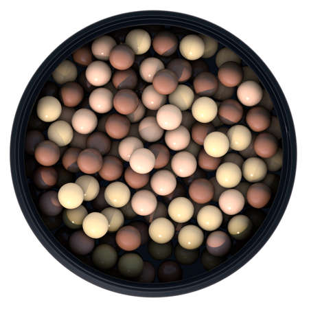 bronzing pearls 3d render stock photo picture and royalty free