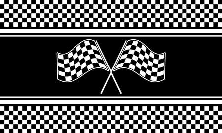 Checkered background vector seamless pattern. Clip art