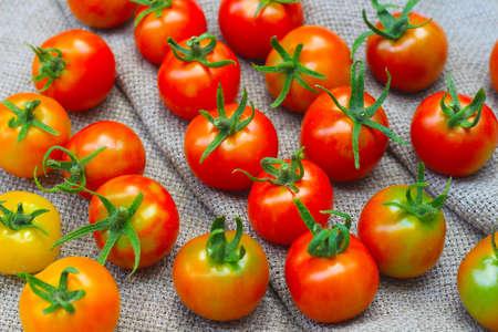 Fresh ripe red tomatoes