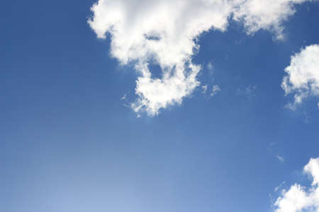 Blue sky with cloud Stockfoto