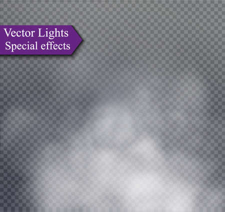 special effects: Fog or smoke isolated transparent special effect.