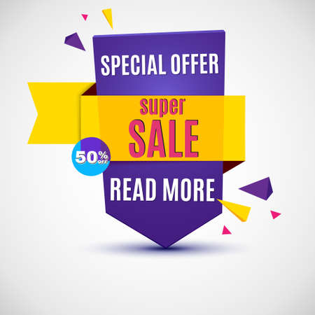 incredible: Incredible Wow Sale banner design template. Big super sale special offer, Vector illustration.